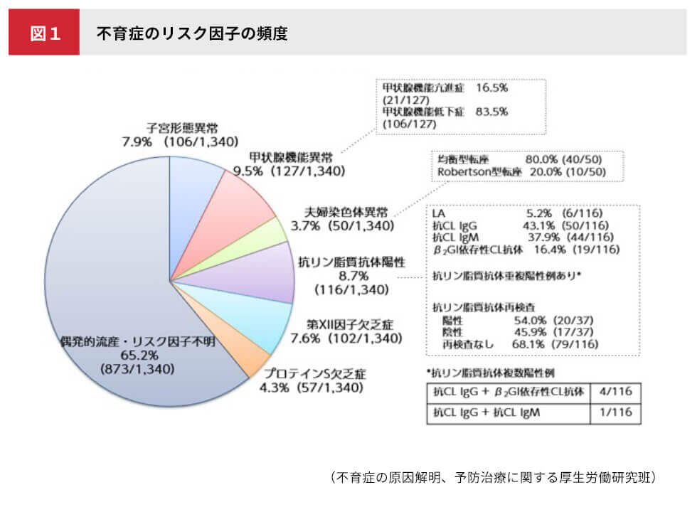 図1 不育症についてのグラフ